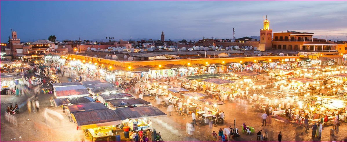2 days trip from Casablanca to Marrakech Via The Atlas