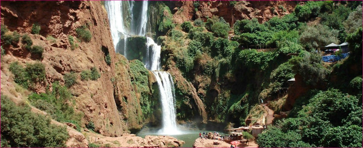 The Magnificent Ouzoud Waterfalls  trip - Full Day Trip To the Ouzoud waterfalls From Marrakech