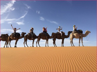3 DAYS TOURS FROM CASABLANCA TO MERZOUGA DESERT